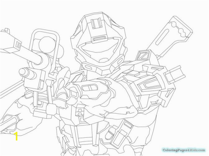 halo odst coloring pages tremendous recon picture inspirations color spartan drawing 672x504