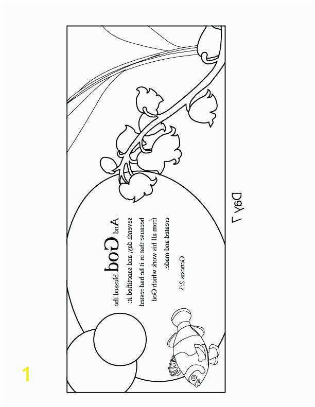 days of creation coloring pages 7 days creation coloring pages free