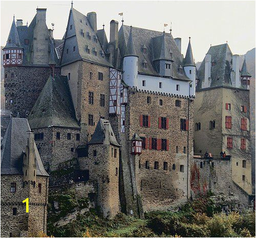 Medieval Castle Wall Mural Eltz Castle Burg Eltz is A Me Val Castle In the Hills
