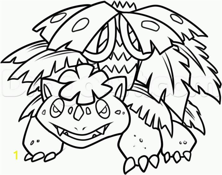 how to draw mega venusaur step 8 1 5