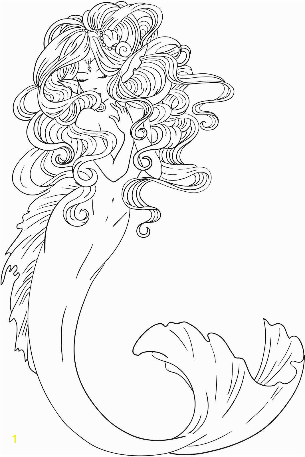 Mermaid Coloring Pages Easy atividades Educativas atividades Infantis atividades