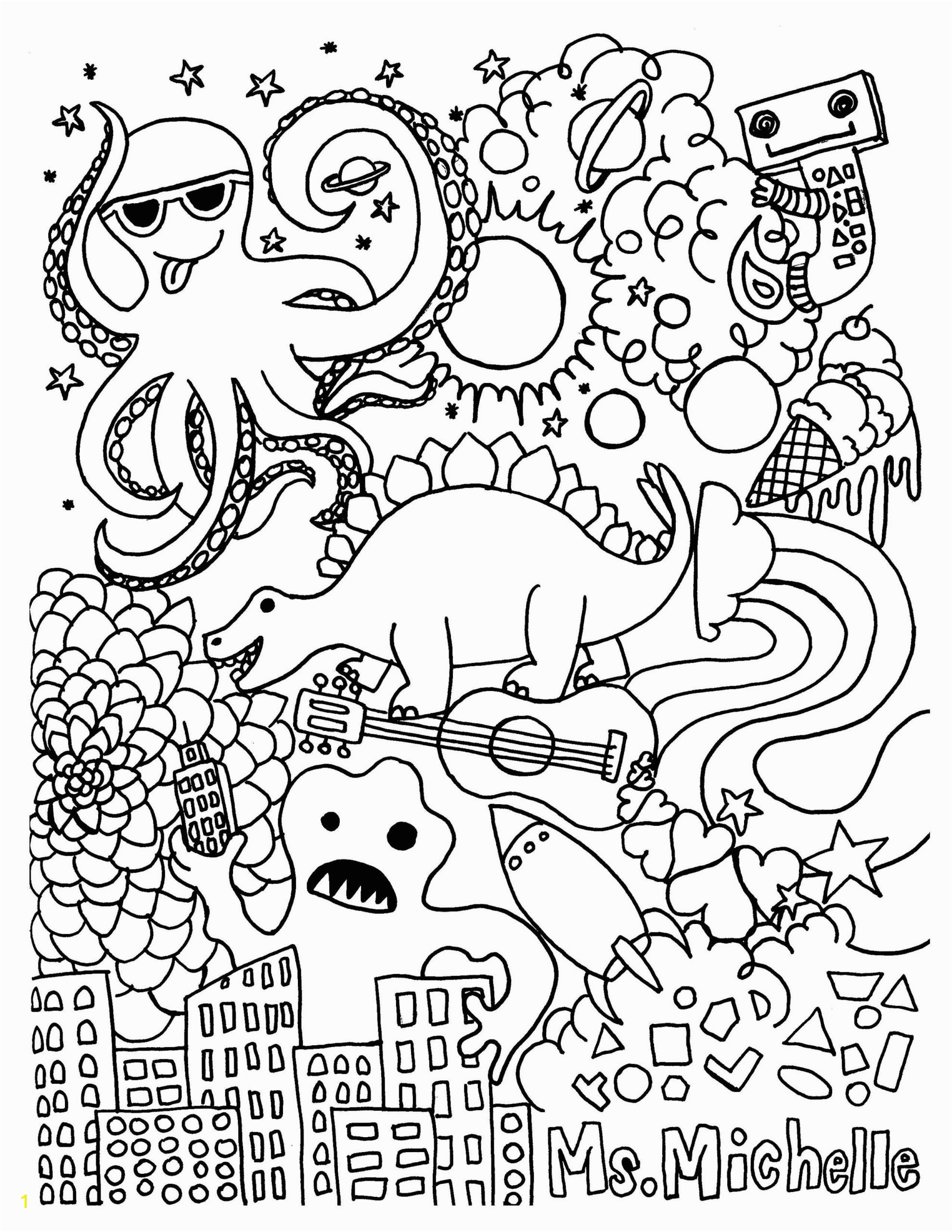Mermaid Coloring Pages Easy Coloring Books Fruit the Spirit Coloring Page Birthday