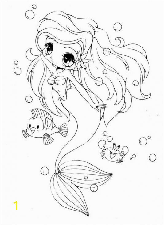 Mermaid Coloring Pages Easy Pin by Wongru On Dolly Creppy