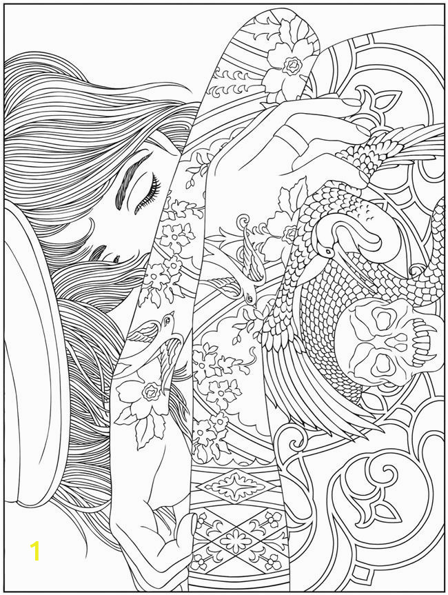 Mermaid Difficult Coloring Pages for Adults Hard Coloring Pages for Adults