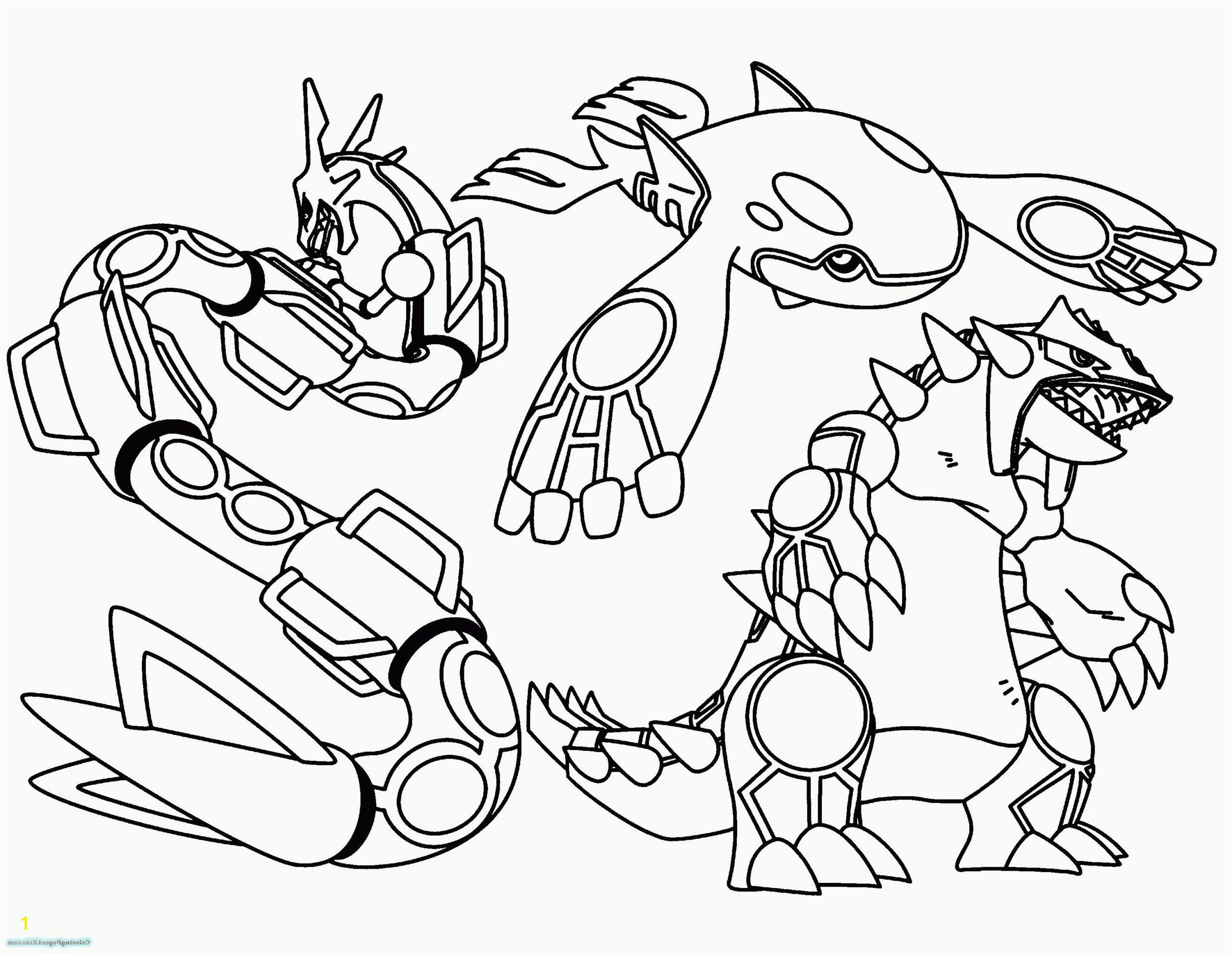coloring pages pokemon sun and moon starters mega to print free pikachu using giga scaled