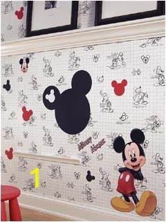 Mickey Mouse Mural Wall Coverings Mickey Mouse Wallpaper