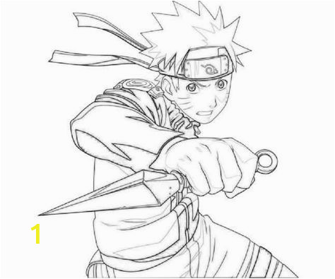 Minato Namikaze Coloring Pages Naruto Coloring Pages to Print