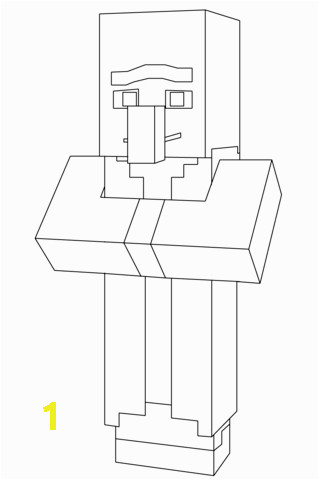 b7cf3cff f7188e3074d864d26cf minecraft villager coloring page free printable coloring pages 319 480