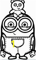Minion Coloring Pages Bob 28 Best Minions Coloring Sheets Images