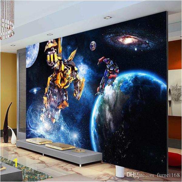 Minion Wall Mural Uk Custom 3d Wallpaper for Walls Galaxy Transformers Wallpaper Starry Sky Wall Mural Boys Bedroom Living Room Wall Covering Free Wallpaper Desktop