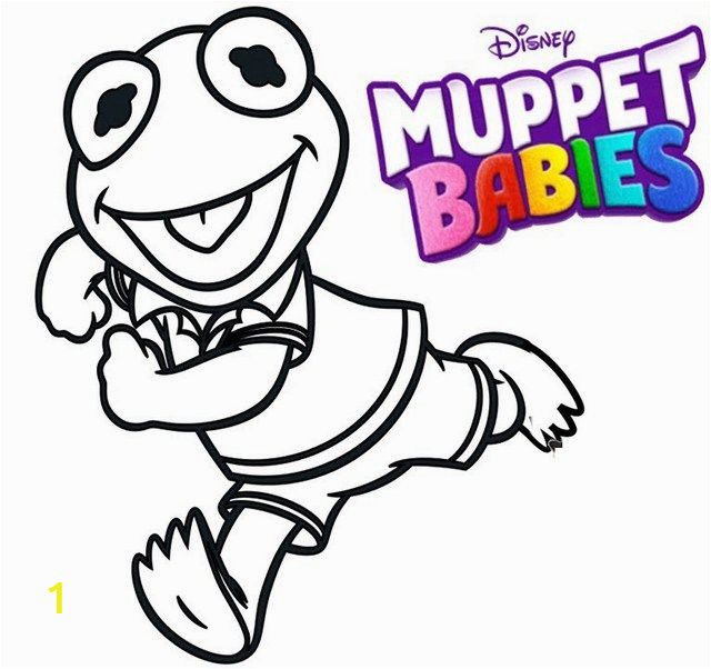 Miss Piggy Muppet Babies Coloring Pages Pin Di Best Muppet Babies Coloring Sheets