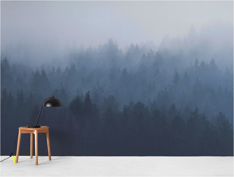 Misty forest Wall Mural Pin On Home Sweet Home Living