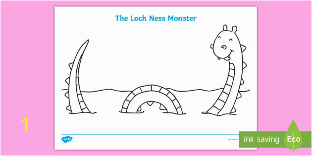 t t 4329 loch ness monster colouring sheet ver 1