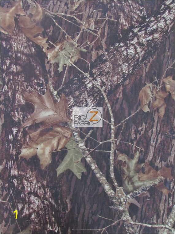 "Mossy Oak Wall Mural Mossy Oak Breakup Woodland Camouflage Spandex Fabric Brown sold by the Yard 58"" Width Clothes Dresses athletic Wear"