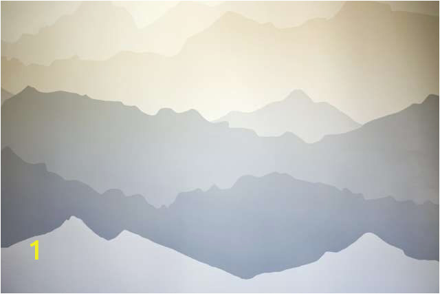 """Mountain Mural Wall Art the """"mountain Mural"""" Bedroom Makeover"""