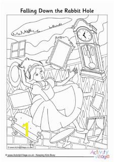 alice in wonderland colouring pages av2