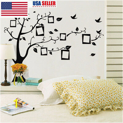 Vinyl Family Tree Wall Decal Mural Sticker DIY
