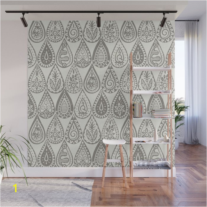 indian raindrops sienna wall murals