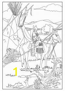 Native American Coloring Pages for Elementary Students 115 Best Horse Native American and Dreamcatcher Coloring