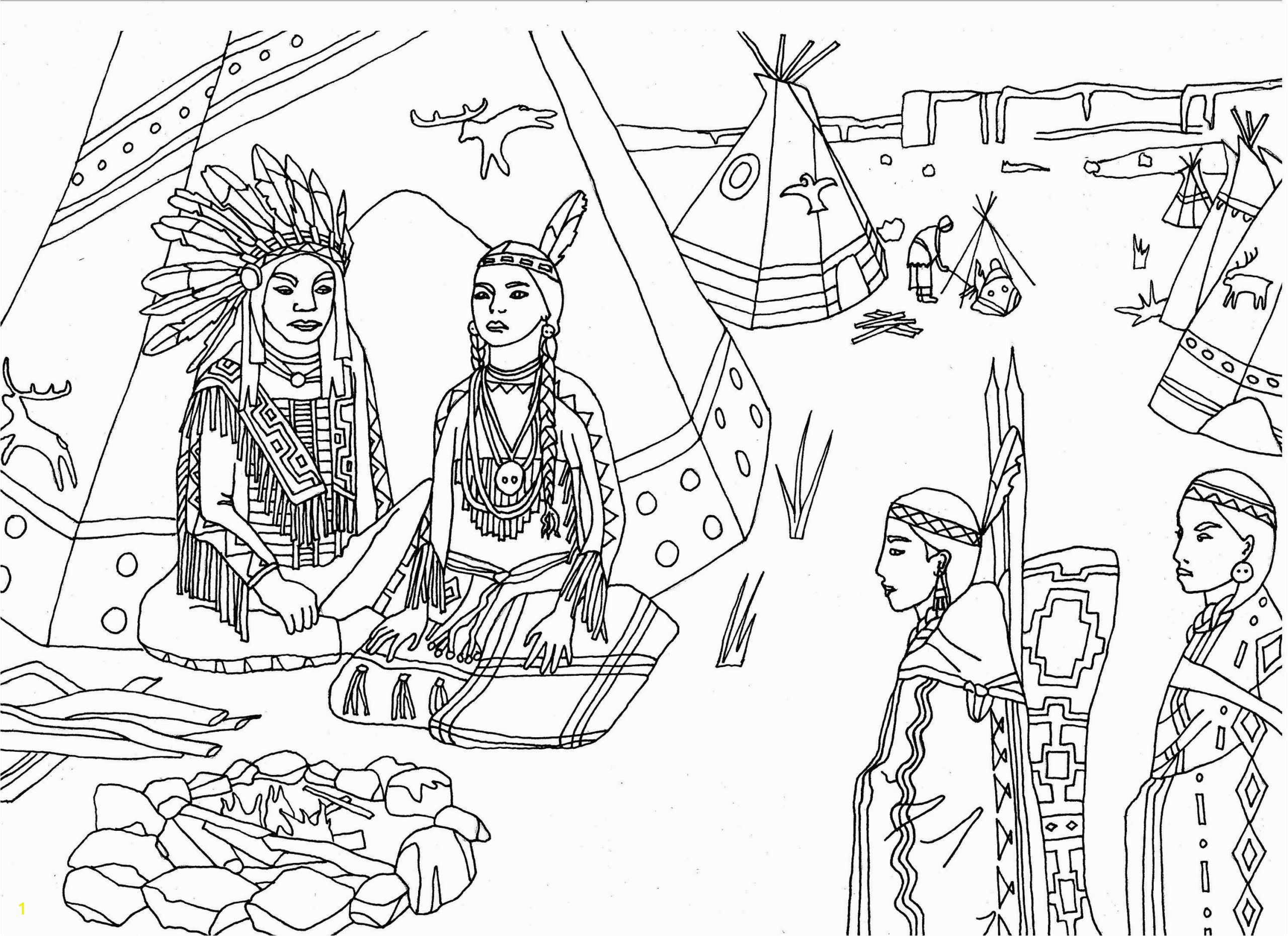 free coloring pages native american lovely native american coloring page inspirational 18awesome indian of free coloring pages native american native american coloring pages