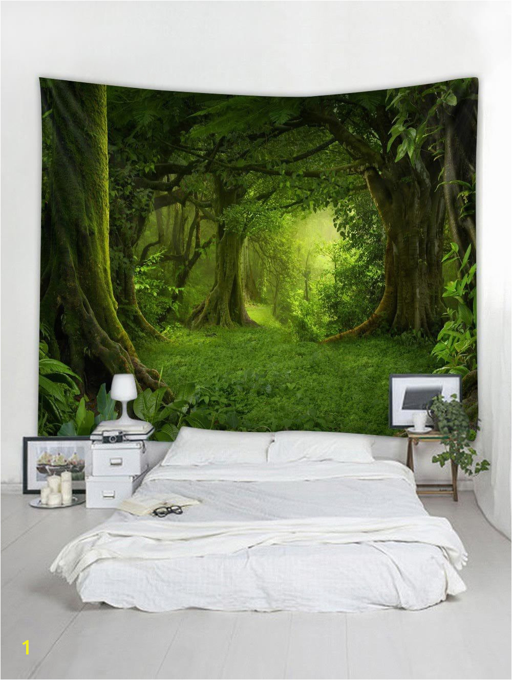 Nature Bedroom Wall Murals Dresslily Gallery forest Pattern Wall Tapestry