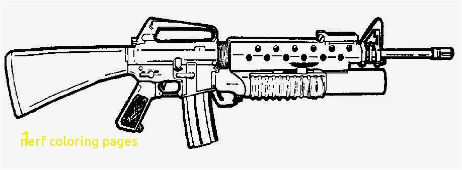 40ed82ce a bf33bd gun coloring pictures nerf coloring pages with nerf gun coloring 918 338