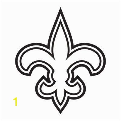 New orleans Saints Coloring Pages Fleur De Lis Decal New orleans Saints by Swampkatkreations