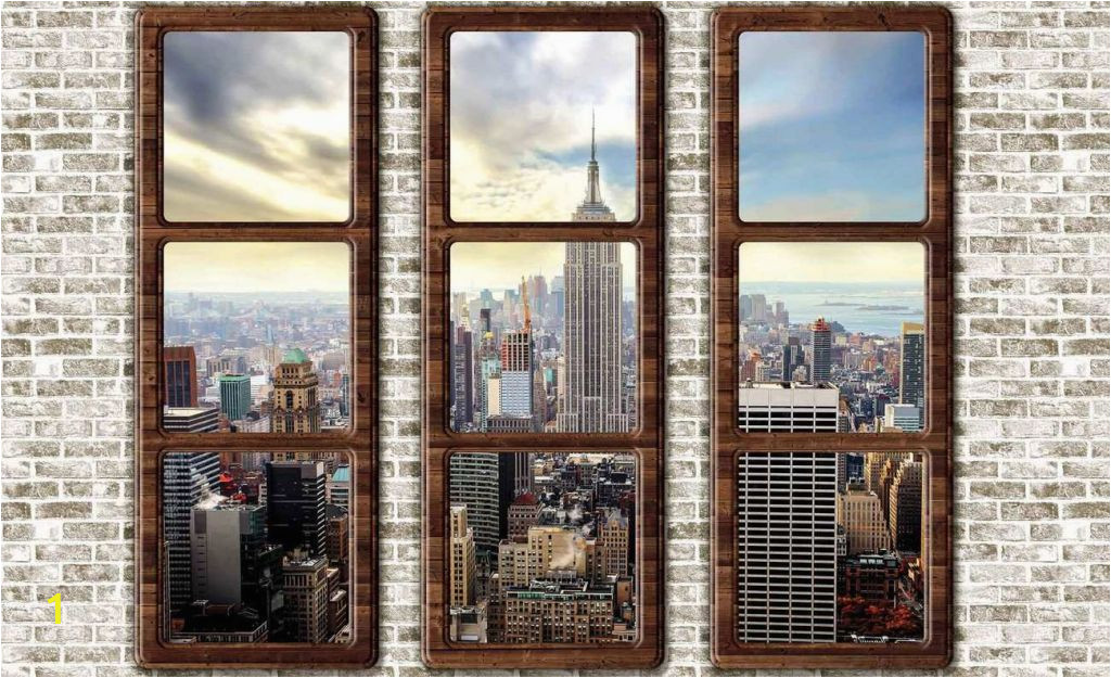 fototapete new york neu new york city skyline window view fototapeta of fototapete new york 1024x625