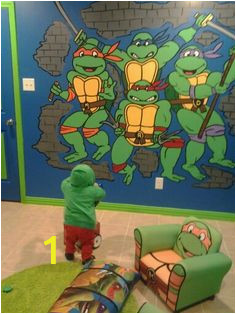Ninja Turtle Wall Mural 47 Best Ninja Turtle Bedroom Images In 2019