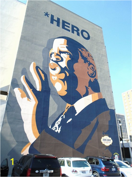 john robert lewis mural