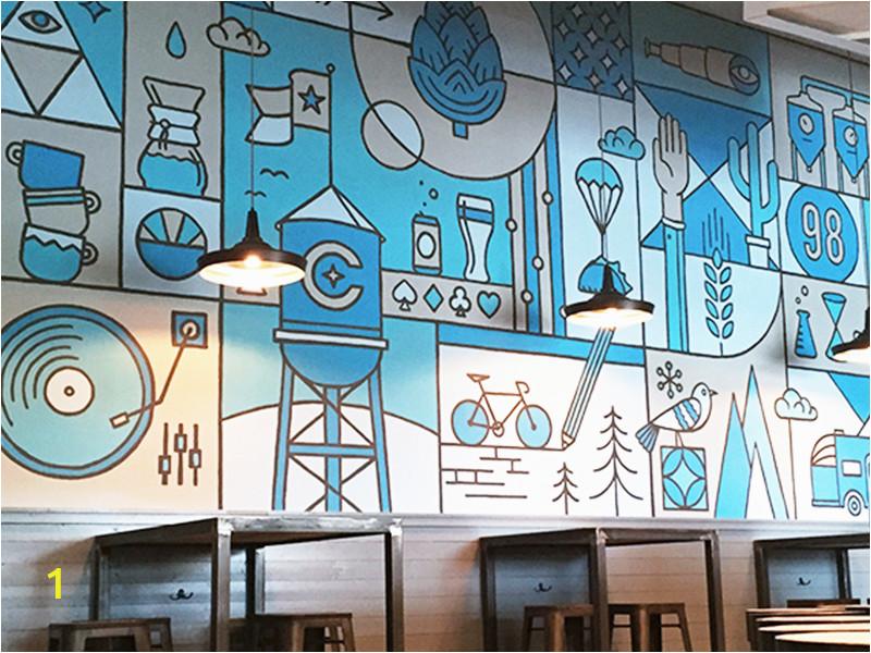 Office Wall Mural Ideas Cuvée Mural