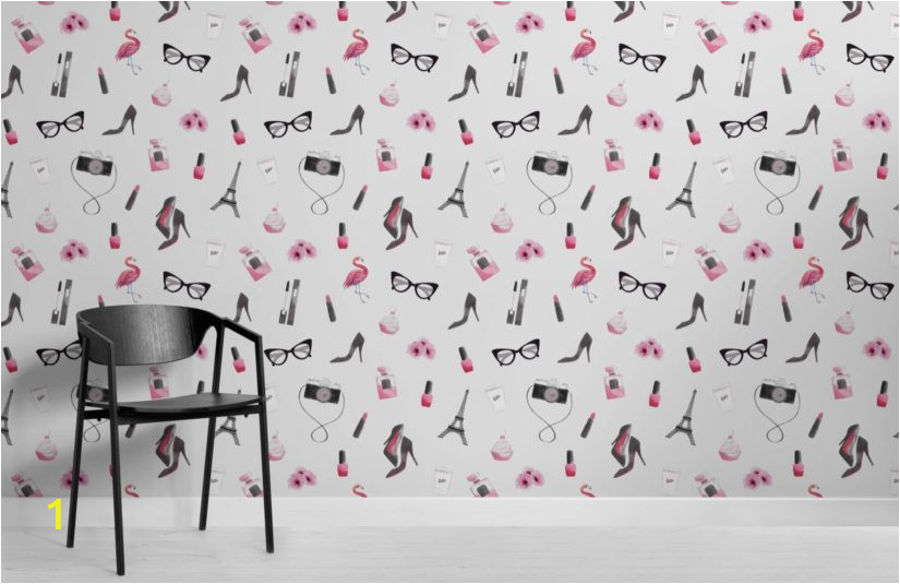 Fashion Illustration Wallpaper Mural Room 825x535