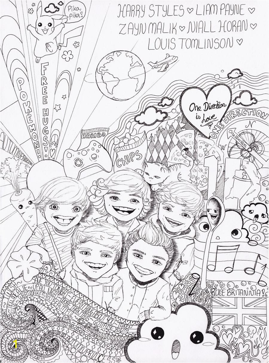 one direction logo coloring pages google slides printable free to print font
