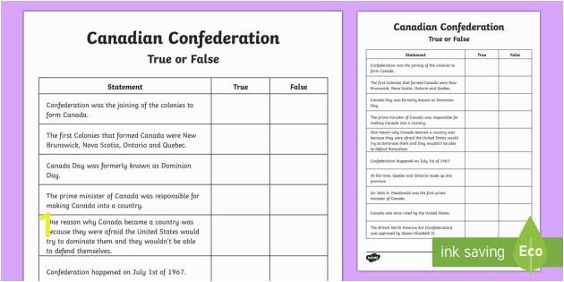 ca2 t 166 canadian confederation true or false activity sheet ver 1