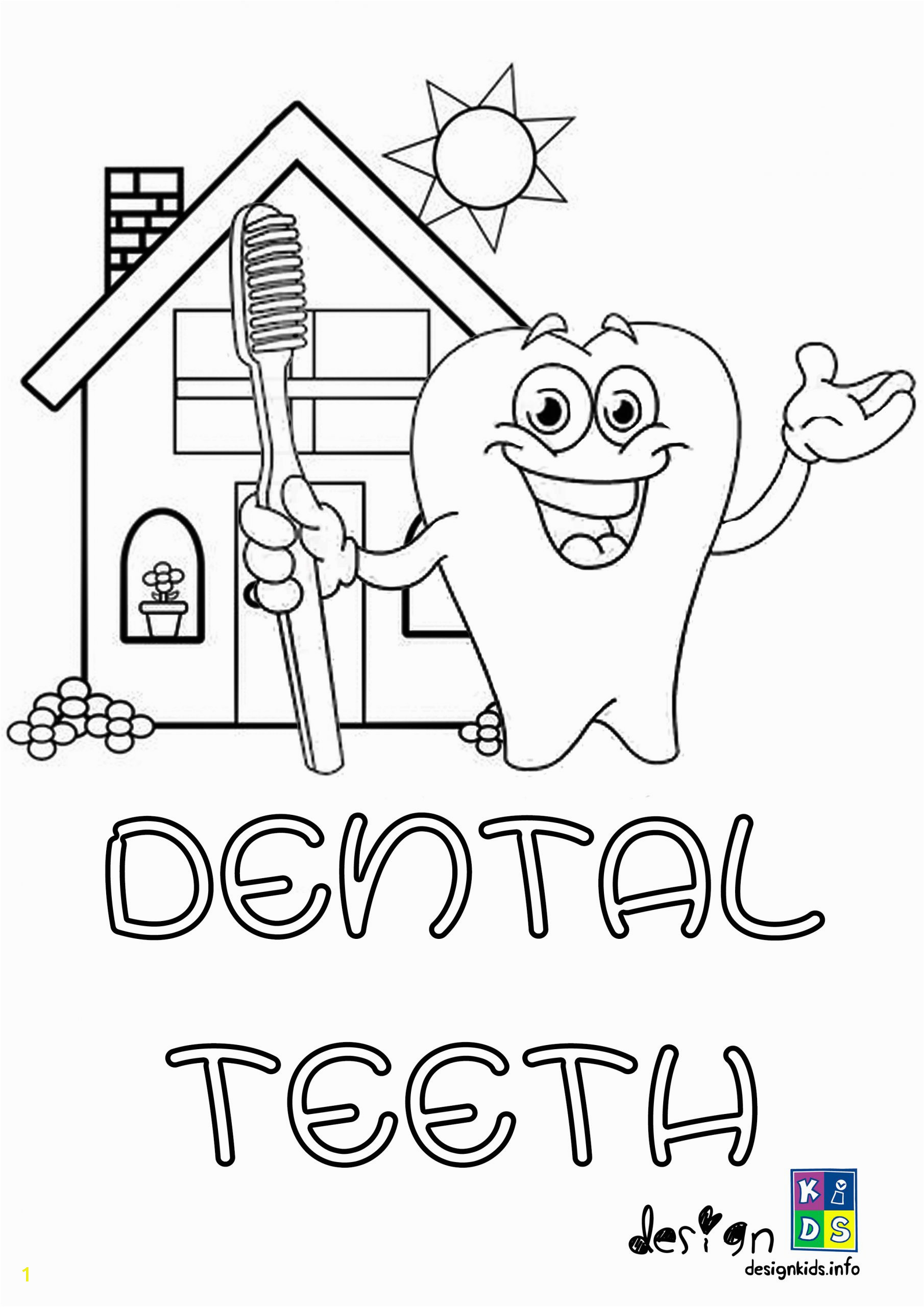 dental coloring pages for kids free printable health scaled color teeth sheets nemesiscolor co children yellow dentist gingivitis treatment appointment associates