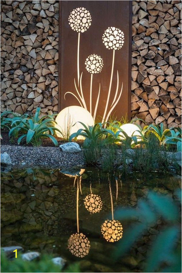 Outdoor Garden Wall Murals Ideas 18 Mind Blowing Lighting Wall Art Ideas for Your Home and