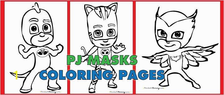 Owlette Pj Masks Coloring Page Free Pdf Of Pj Masks Coloring Pages Catboy Gekko