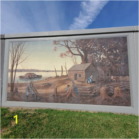 paducah flood wall mural