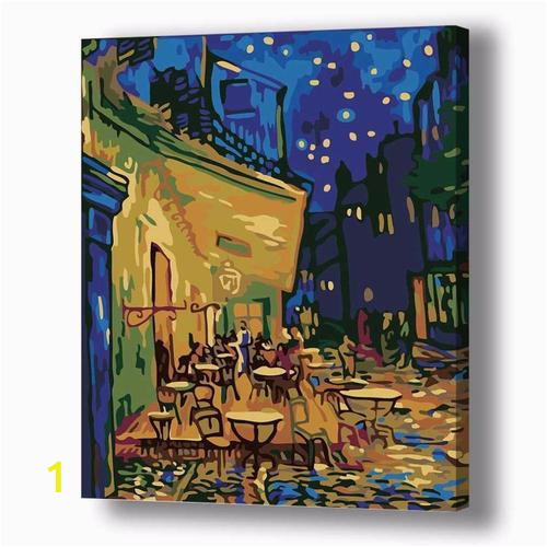 diy paint by number kit for adults on canvas cafe terrace at night van gogh clean pbn 250x250 2x