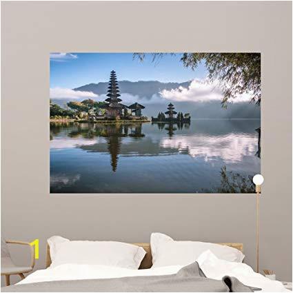 Painting Murals On Bedroom Walls Amazon Wallmonkeys Od Temple Bali Indonesia Wall Mural