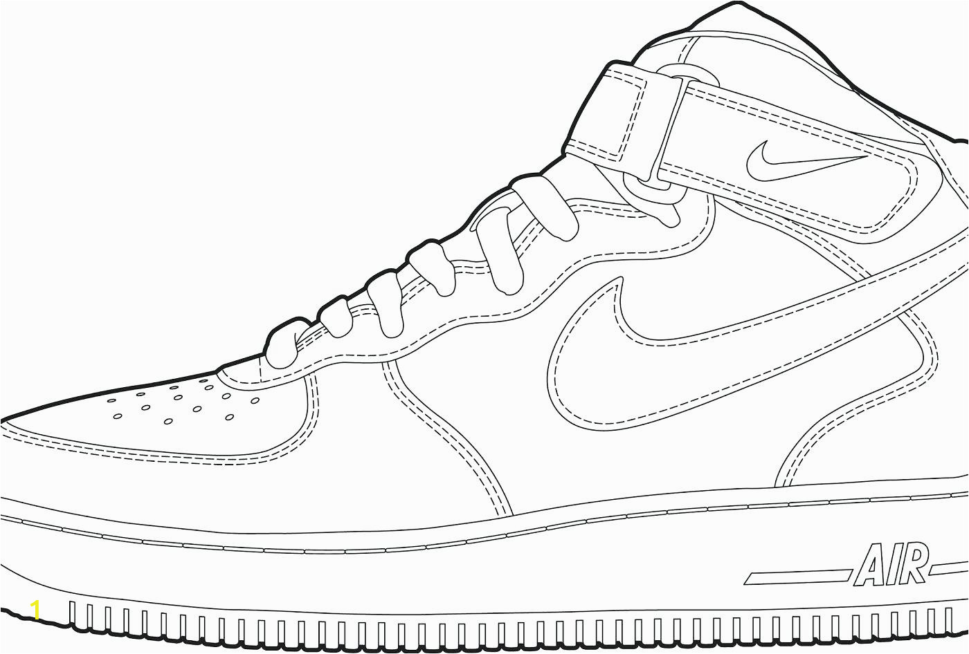 shoe coloring sheets image ideas nike pages jordan for kids lebron high heel