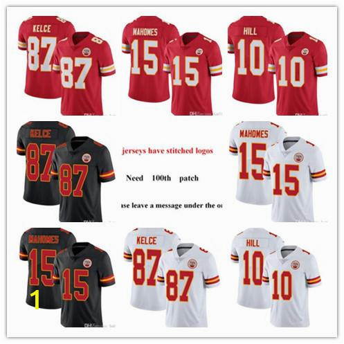 Patrick Mahomes Coloring Pages 2019 2020 athletic Kansas City Men Women Youth Chief 15 Patrick Mahomes 87 Travis Kelce 10 Tyreek Hill Football Jerseys Red Black Rush White From