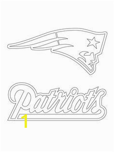 Patriots Logo Coloring Page 628 Best Football Images