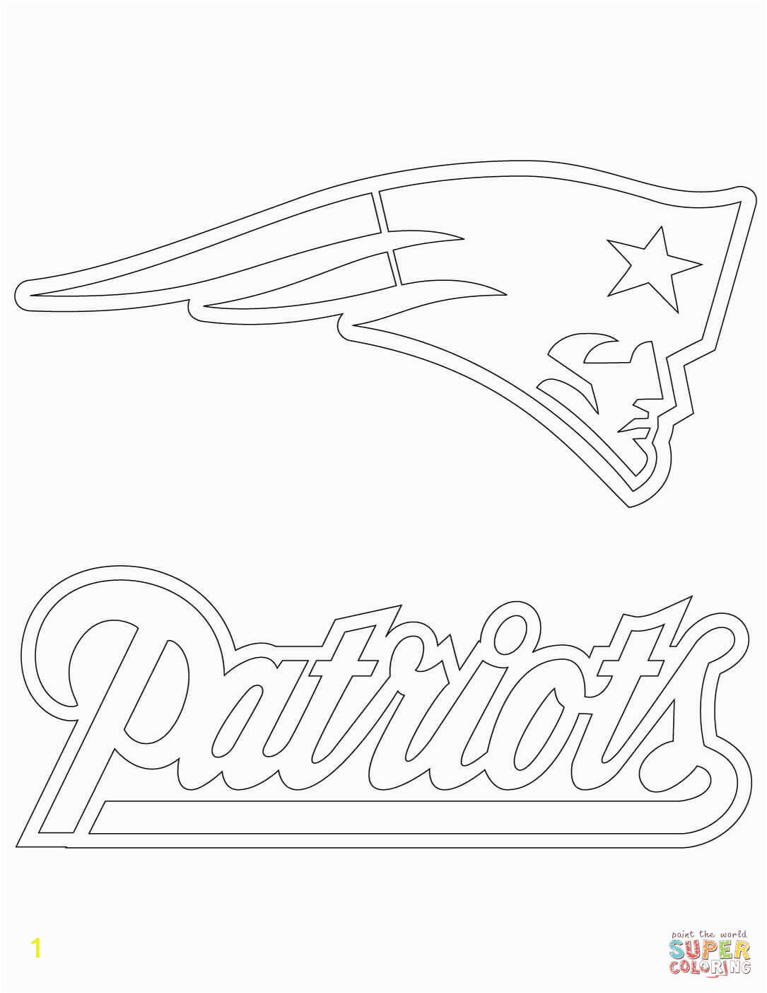 paris coloring pages new england patriots logo page free printable archive with tag water handistory color