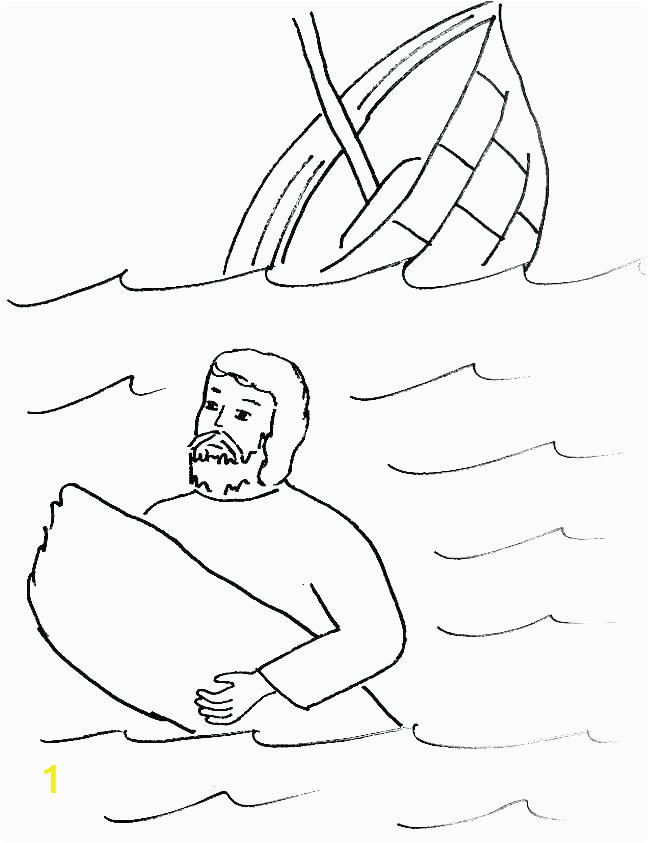 paul on the road to damascus coloring page and shipwreck