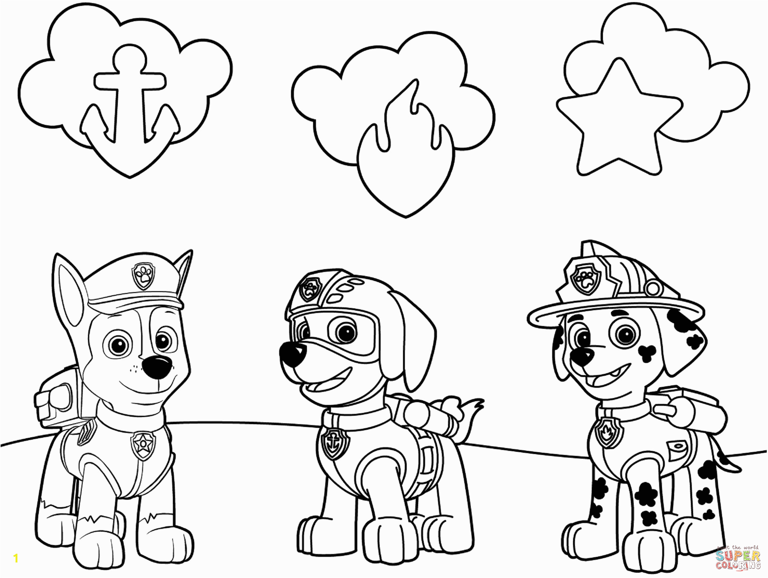 paw patrol free printable coloring pages 14