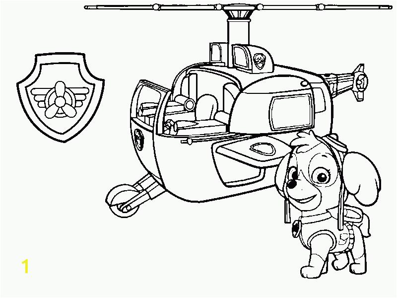 Paw Patrol Marshall Fire Truck Coloring Page | divyajanani.org