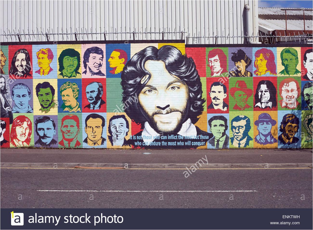 solidaritat wandbild fallt weg belfast nordirland enktwh