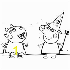 Peppa Halloween Coloring Pages top 35 Peppa Pig Coloring Pages for Your Little Es