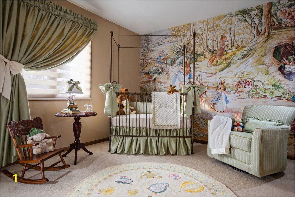 Peter Rabbit Nursery Wall Murals Elegant Peter Rabbit Nursery